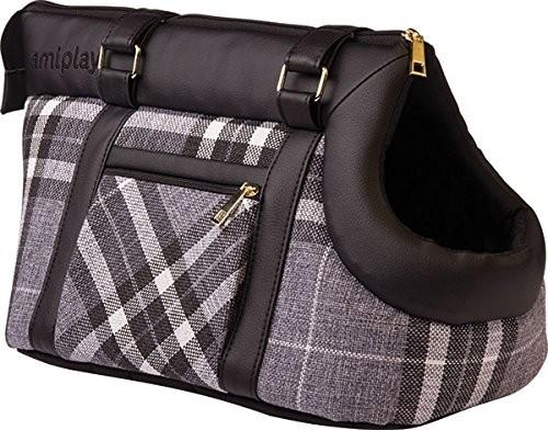 Pet Carrier Bag Kent Svart 42x26x30 cm från Ami Play köp billiga på nätet