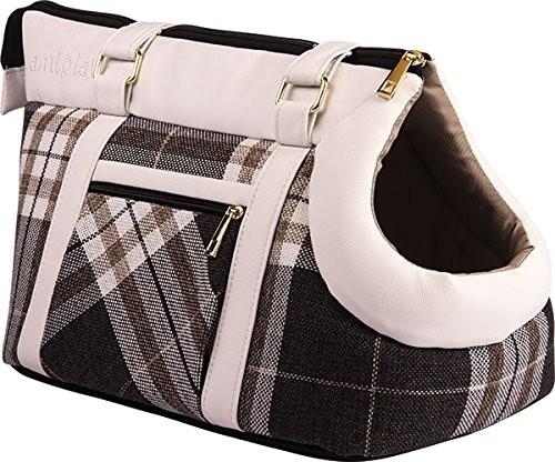 Amiplay Pet Carrier Bag Kent  Hvid 32x21x24 cm