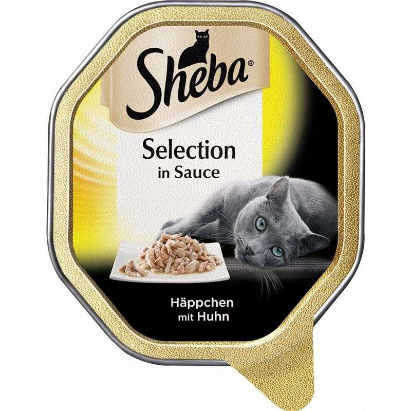 Sheba Selection in Sauce med Kyllingbidder 85 g test