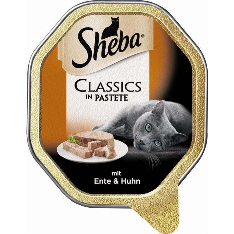 Sheba Classics in Pate - Duck & Chicken EAN: 3065890131880 reviews