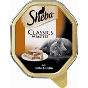 Sheba Classics in Pate - Duck & Chicken 85 g