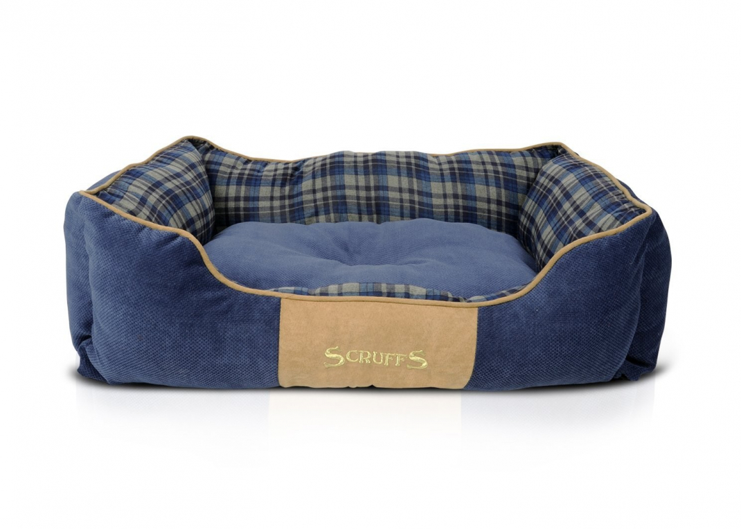 Scruffs Highland Box Bed Blau L