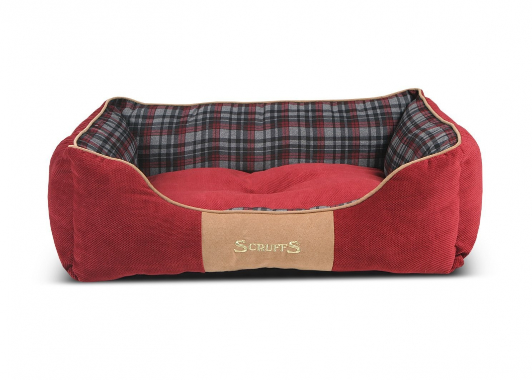 Scruffs Highland Box Bed  Rouge L