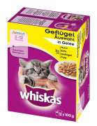 Whiskas Multipack Junior poultry Selection in Jelly 12x100 g