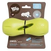 Intelligence West Paw Qwizl Treat Toy, Green