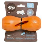 Qwizl Treat Toy Oranje