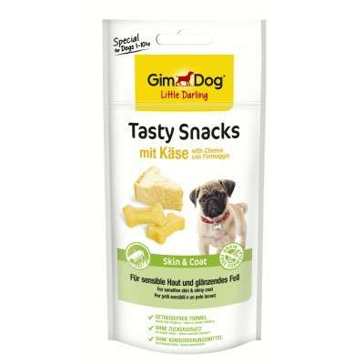 GimDog Tasty Snacks with Cheese + Skin & Coat 40 g osta edullisesti