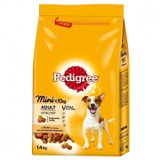 Pedigree Adult Mini con carnes de corral 1.4Kg