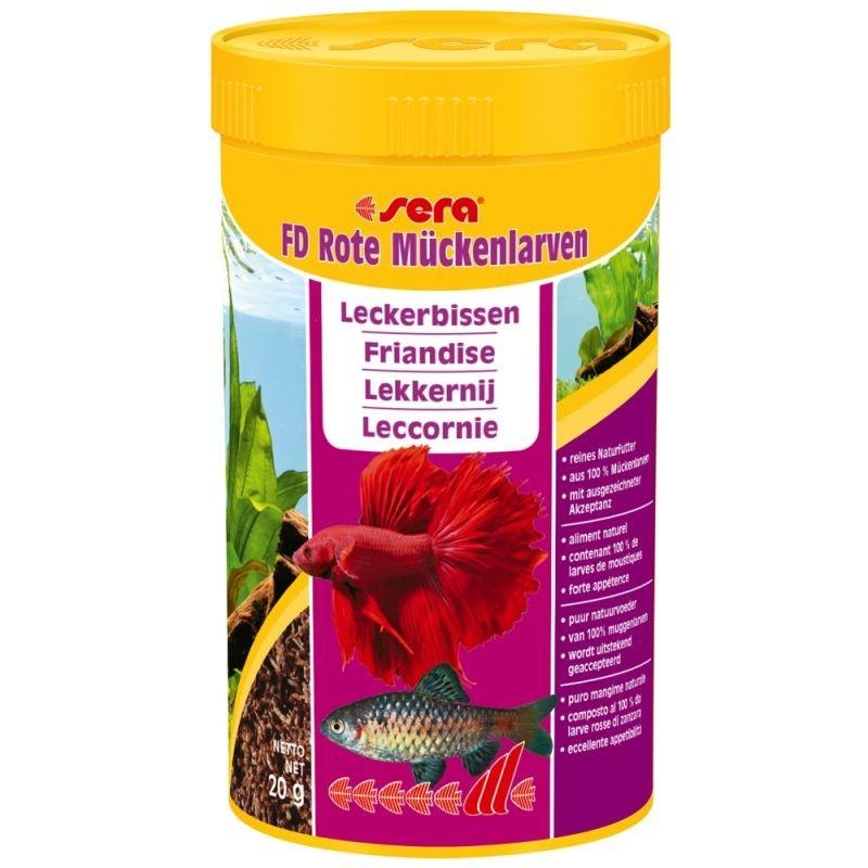 Sera FD Rode Muggenlarven  20 g