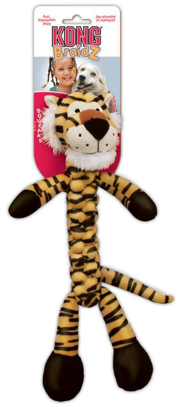 KONG Braidz Tiger Tiger  S kjøp billig med rabatt