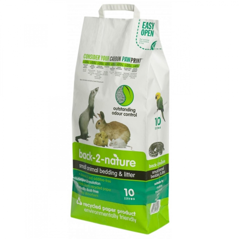 FibreCycle Back-2-Nature Small Animal Bedding and Litter 9315087401109 kokemuksia