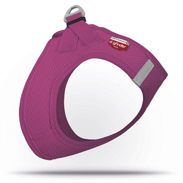 Curli Vest Arnês Air-Mesh SE 17  Vermelho violeta XXS