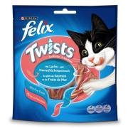 Felix Twists Salmón y Mariscos 6x50 g