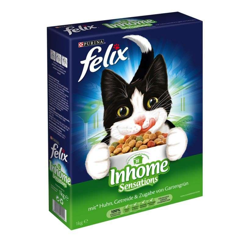 Felix Inhome Sensations with Chicken, Cereals and Greens 3222270189644 erfarenheter