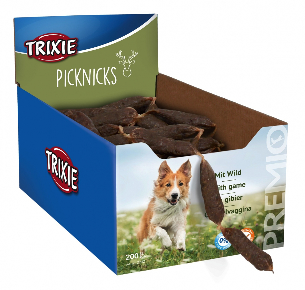 Trixie Premio Picknicks, Wild Game 200x8 g