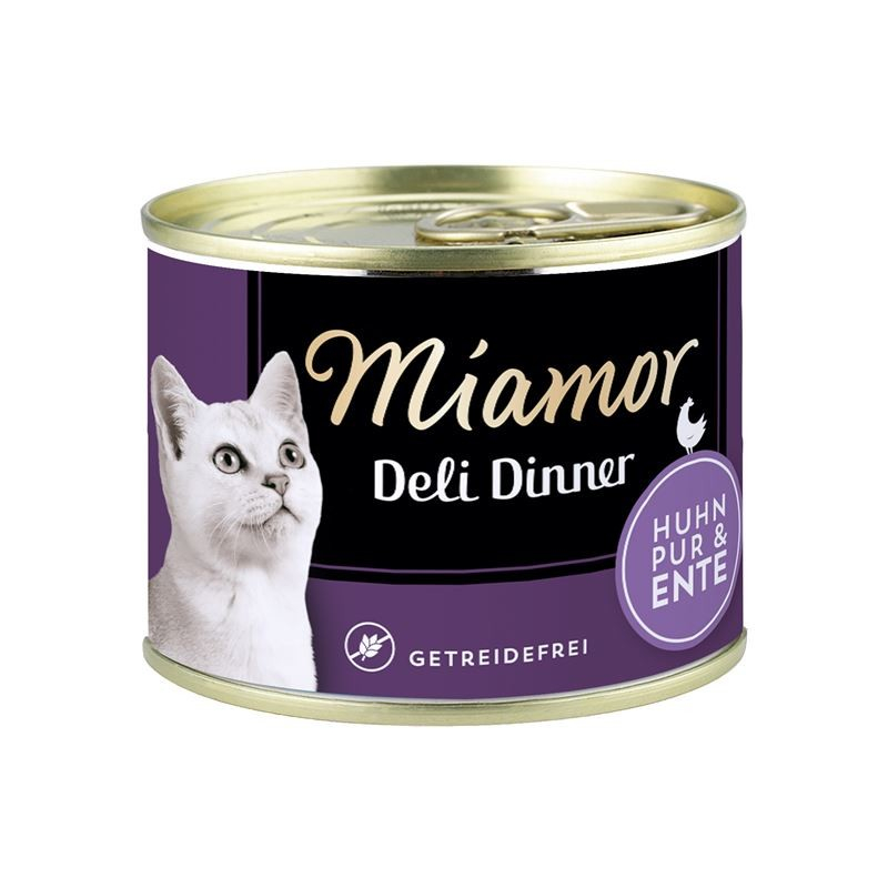 Miamor Deli Dinner Chicken pure with Duck 175 g order cheap
