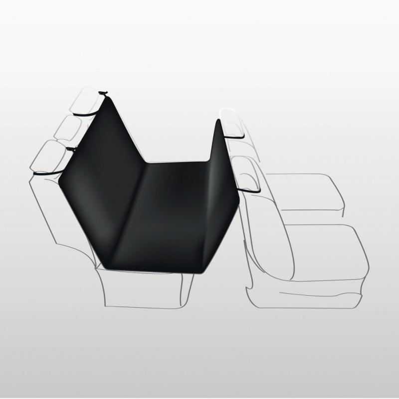 Trixie Funda Protectora Asientos Coche, Poliester/Felpa 140x160 cm