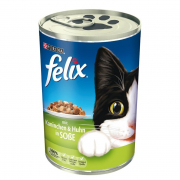 Felix Chunks with Rabbit and Chicken in Sauce 400 g