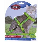Arnés con correa, Nylon Trixie 120cm Accesorios para viajar para gatos   bajo precio y entrega en tu domicilio