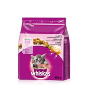 Whiskas Junior Laks 800 g
