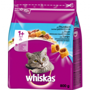 Whiskas 1+ Complete Dry with Tuna 800 g
