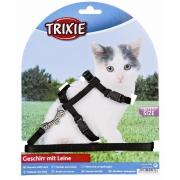 Valjaat ja hihnat Trixie Kitten Harness with Leash 120cm