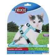 Valjaat ja hihnat Trixie Kitty cat - Kitten Harness with Leash