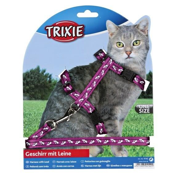 Trixie Arnés y correa para gatitos, con dibujo  4011905041421 opiniones