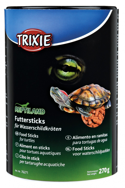 Trixie Reptiland Food Sticks for Water-Turtles 270 g 4011905762715 erfaringer