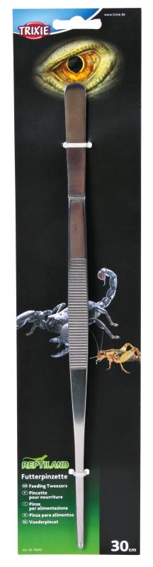 Trixie Voederpincet, recht  30 cm