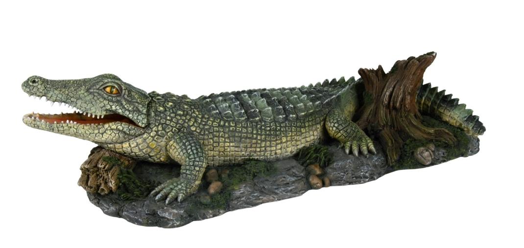 Trixie Krokodil met Luchtpompaansluiting 26 cm  met korting aantrekkelijk en goedkoop kopen