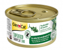 GimCat Superfood ShinyCat Duo Filete de Atún con Zucchini 70 g