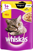 Whiskas 1+ Casserole Chicken in Jelly 85 g