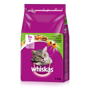 Whiskas Adult 1+ with Lamb 3.8 kg