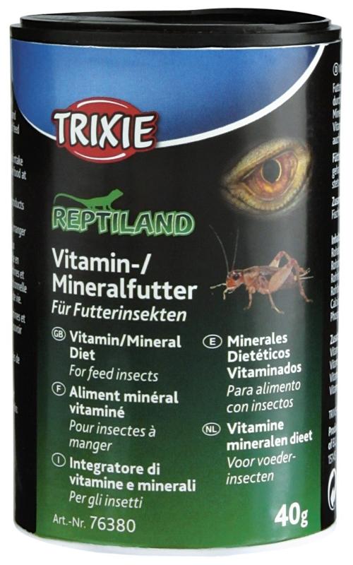 Trixie Vitamin/Mineralfutter für Futterinsekten 40 g 4011905763804