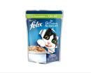 """Alimento húmedo para gatos   Felix: """"Tan Bueno como Parece"""" con Conejo en Gelatina 100g ¡La mejor calidad a precios extremadamente bajos!"""
