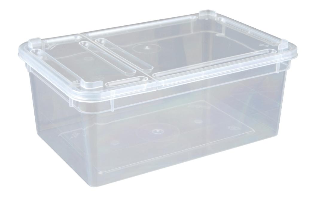 Trixie Sortiment BraPlast Boxen, Klarsicht 1.3 l