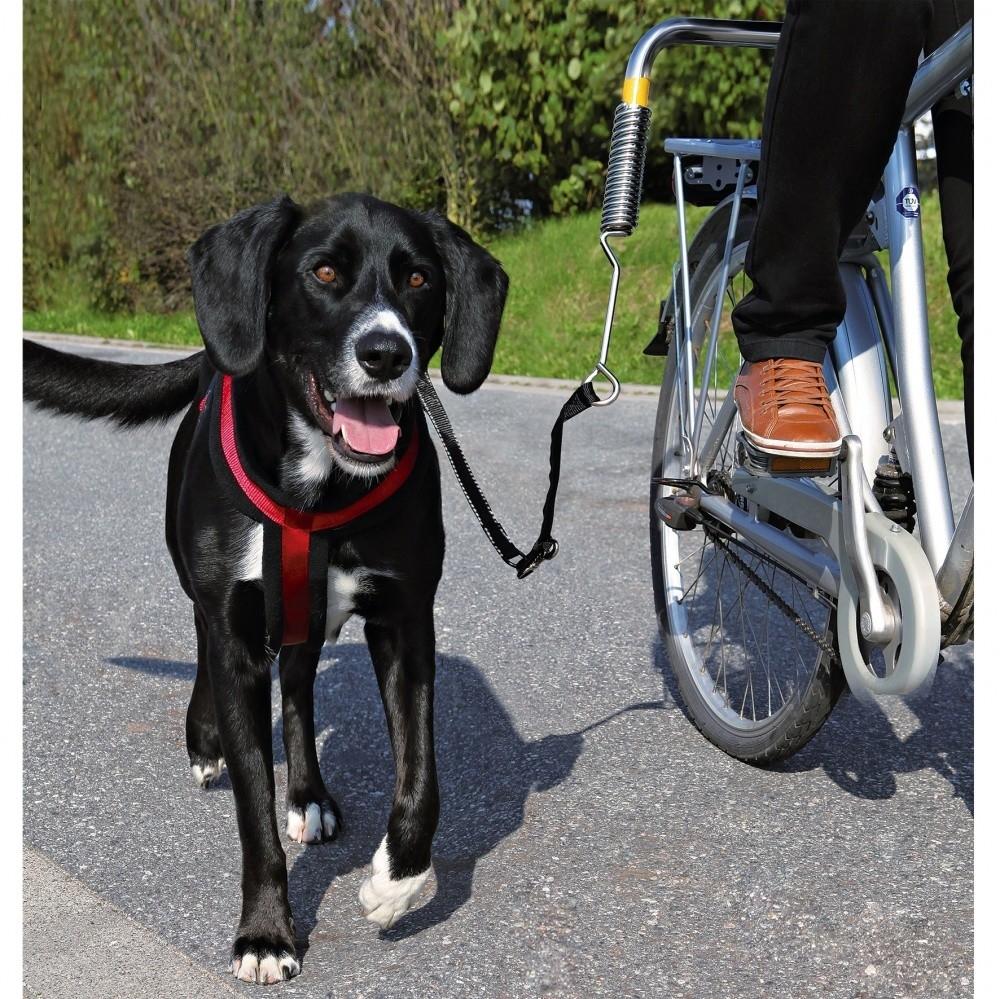 Trixie Biker-Set para Bicicleta para Perros grandes  Negro