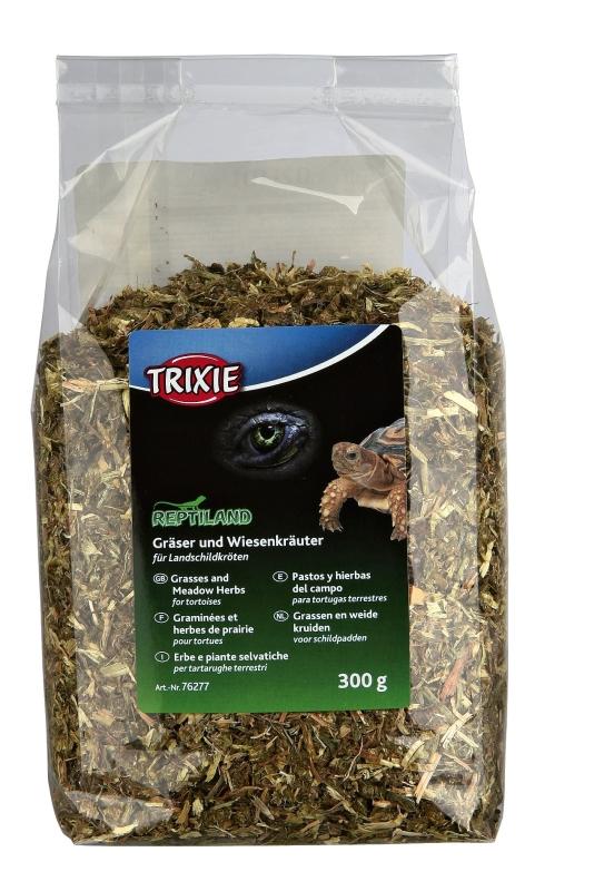 Trixie Gräser und Wiesenkräuter für Landschildkröten 300 g 4011905762777
