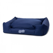 """Oeko-Bed"" Dog Cushion Navy blue"