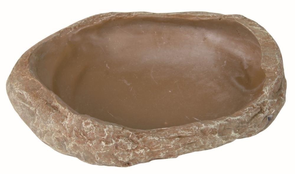 Trixie Wasser- und Futterschale, Steppenfelsen  15x3.5x12 cm