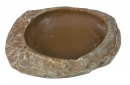 Trixie Water and Food Bowl, Steppe Rock 6x1.5x4.5 cm