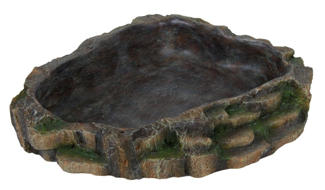 Trixie Wasser- und Futterschale, Regenwald 24x5.5x20 cm