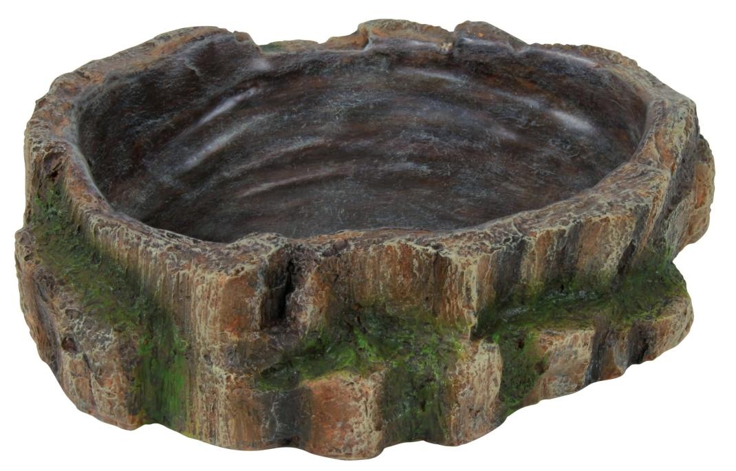 Trixie Wasser- und Futterschale, Regenwald  18x4.5x17 cm