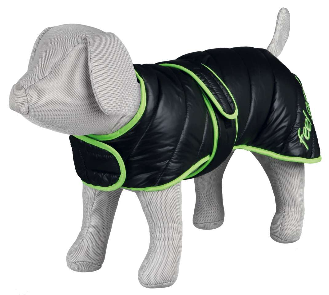 Colmar Winter Coat - Black/Green 50x40-56 cm  from Trixie