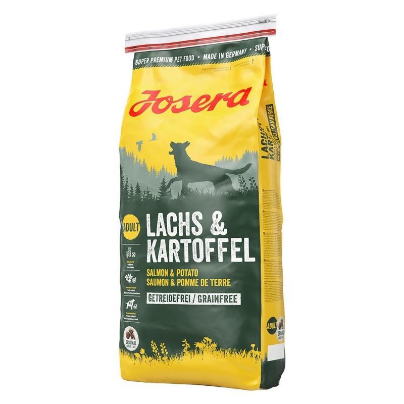 Josera Nature Salmon & Potato Grainfree 1.5 kg, 15 kg, 4 kg, 900 g