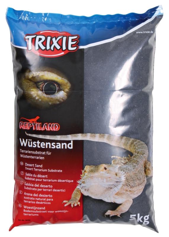Trixie Sabbia del Deserto  Nero 5 kg