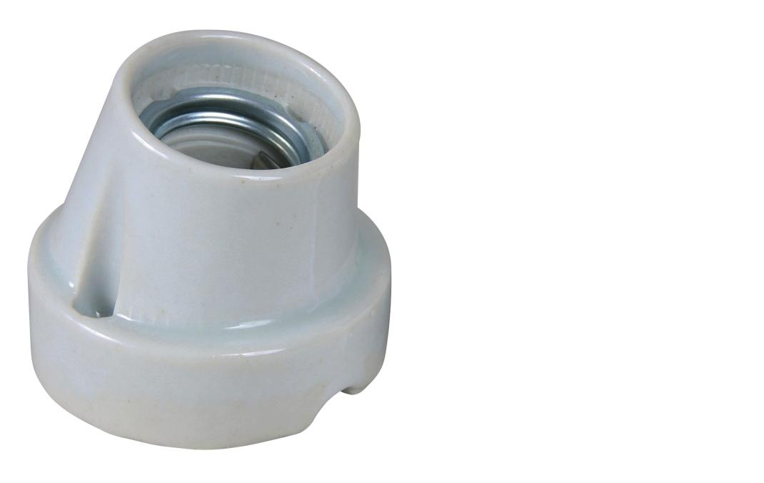 Keramikfassung Pro Socket, Gewinkelt 160 W  von Trixie