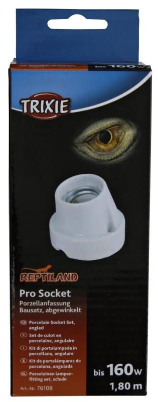 Trixie Casquillo Cerámico Pro Socket, Angulosa 160 W