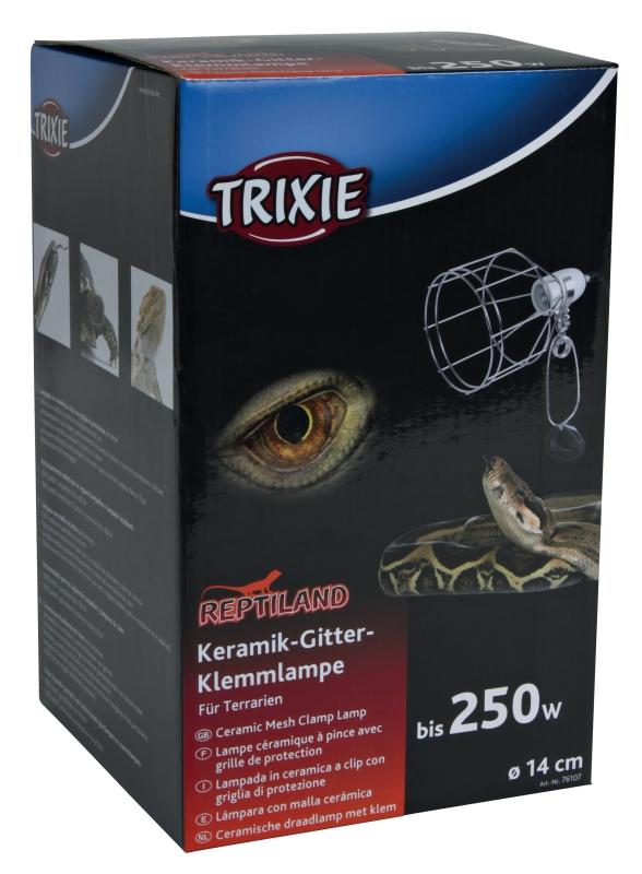 Trixie Keramik Gitter-Klemmlampe  ø14×24  cm